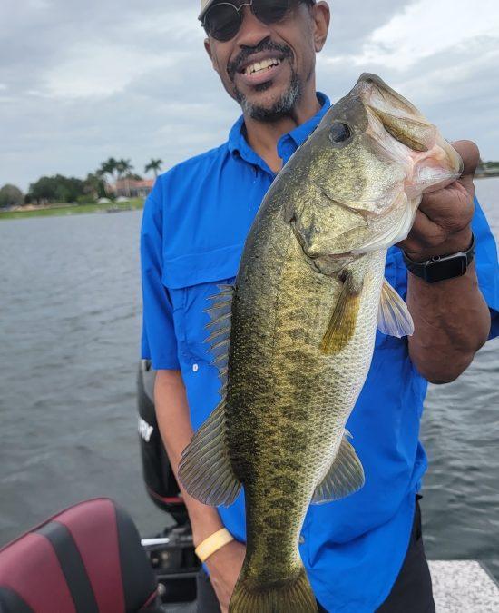 Big Bass were Biting today
